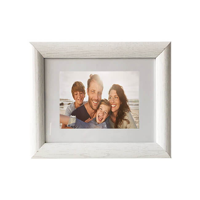 White classical gift photo frame 10 x 15 cm | wholesale factory