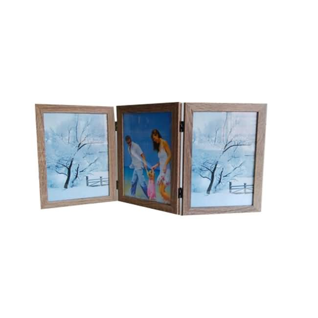Three window clip hanging wall collage frame | multi-frame manufacturer
